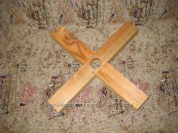 Крестовина - подставка для елки деревянная неразборная