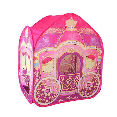 Палатка детская Карета арт. 3316 Распродажа