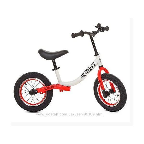 Беговел Profi Kids надувные колеса 12 дюймов 5460A-7