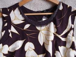 Стильная нарядная блуза с бисером, 14 Англия, 42 Евро