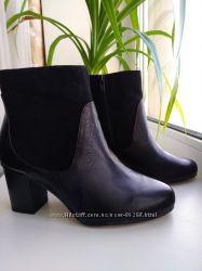 Женственные ботинки CLARKS, р. 4. 5. Пролет