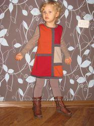 Платье colorblock C&A Германия. 98р. Идеальное состояние.
