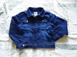 GYMBOREE, Джинсовый пиджак, 7-8 лет, в хорошем состоянии