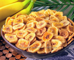 Найсмачніші бананові чіпси