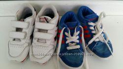 Кроссовки reebok и addidas 28 размер, 18см, идеальное состояние