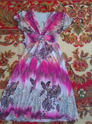 Летнее платье размер С-М
