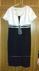 Модний, шикарний костюм, плаття і піджак, тканина з блиском, гарно виглядає