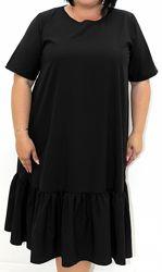 Чорне, літнє, легке платтячко 54-56