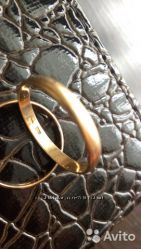 Кольцо золото 585 проба 21 размер