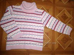 Свитера и кофты на девочку на 3-5 лет - 104-110-116см