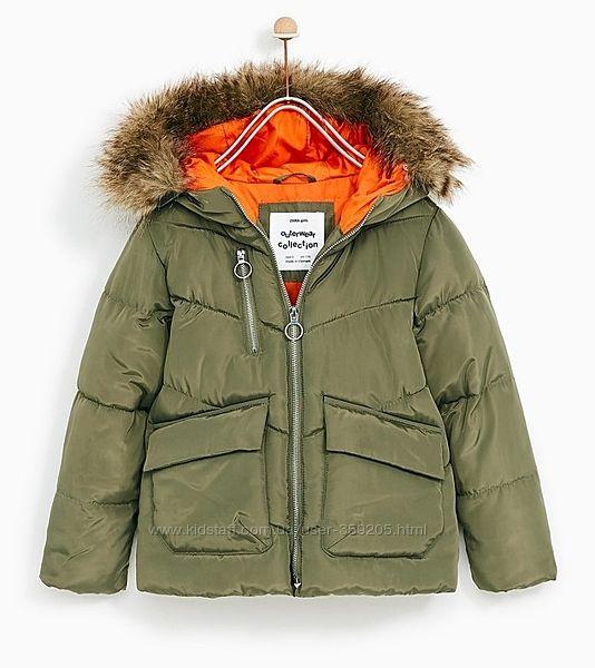 Демисезонная куртка Zara 134 р.