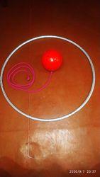 Обруч PASTORELLI. sasaki мяч sasaki  скакалка для художественной гимнастики