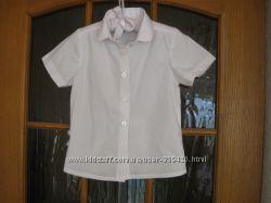 блуза школьная Nutmeg Англия рост 110-116 см