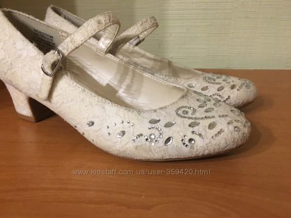 туфли нарядные Monsoon Accessorizeр. 34