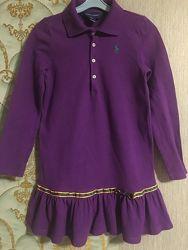 платье фирменное Polo Ralph Lauren на 6 лет