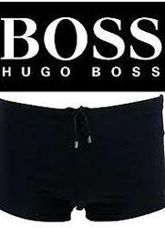 плавки боксеры брендовые очень стильные Hugo Boss р. M