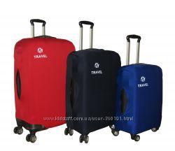 Защитные чехлы для чемоданов TRAVEL  все размеры  СУПЕРЦЕНА
