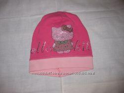 Продам шапку весна-осень р. 54, Hello Kitty
