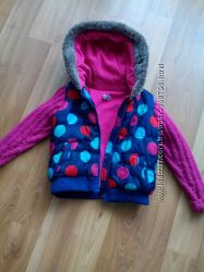 Теплая жилетка - куртка