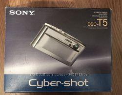 Цифровой фотоаппарат Sony cyber-shot DSC T5