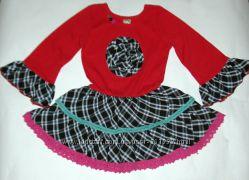 Нарядное платье Lele Vintage на 4-5 лет 104-110см. Состояние нового.