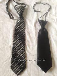 2 галстука на парнишку для сада или школы