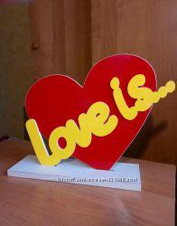 Love is. Свадебная бутафория, атрибуты для фотосессий.
