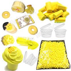 Slime box Банановый десерт набор добавок для слайма