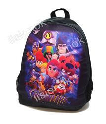 Большой рюкзак brawl stars  практичный, яркий, вместительный и легкий