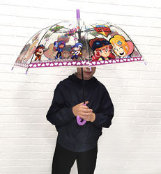 Зонт Бравл Старс, детский зонтик с героями любимой игры Brawl Stars