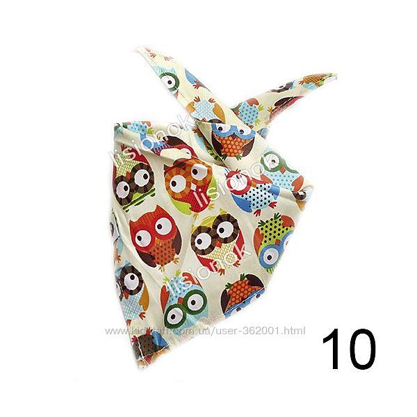 Слюнявчик, шарфик, галстук, арафатка стильный аксессуар для Вашего ребенка