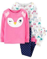 Пижамы Картерс Carters 2Т-14Т трикотаж для девочек