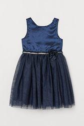 Платья нарядные 98-158см H&M