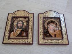 Иконы пара Мария и Иисус
