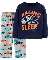Пижамы Картерс Carters 2Т-5Т флис для мальчиков