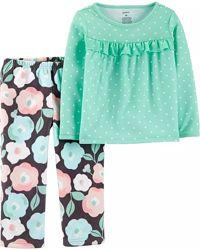 Пижамы Картерс Carters 2Т-10Т флис для девочек