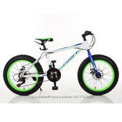 Детский Фэтбайк спортивный Велосипед 20 дюймов Profi POWER рама 13 Shimano