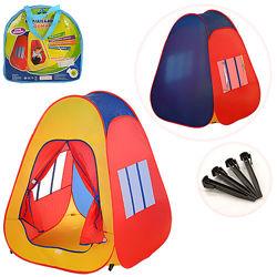 Детская игровая палатка домик пирамида M 1422 1058886 см