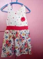 Платье летнее. Бу  110-115