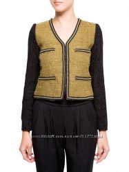 Пиджак блейзер женский Mango С ХС букле