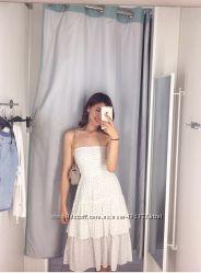 Летнее платье миди женское H&M С М