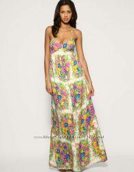 Платье сарафан цветы макси TopShop М