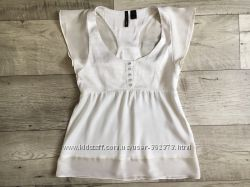Блуза топ женская Mango С ХС ивори