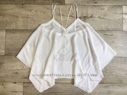 Асимметричный топ платок майка летняя H&M М С
