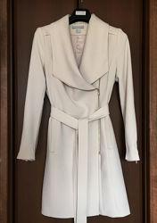 Тренч плащ H&M M длинный пиджак женский с лацканами
