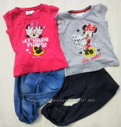 Футболки и штанишки для девочки 98-104