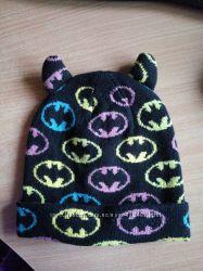 Шапка Batman бэтмэн 2-4 года