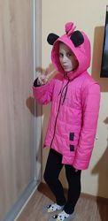 Курточка демисезонная на девочку 134-140-146 см роста