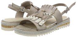 Marco Tozzi Premio сандалии, кожа, 37й размер, на 24см.