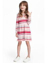 Вязанное платье HM  4-6.6-8 лет